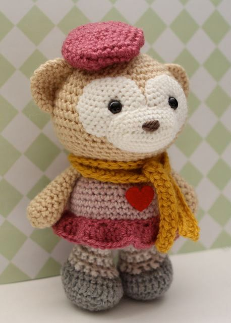 Free monkey crochet pattern (Free Amigurumi Patterns) | Crochet ... | 640x458