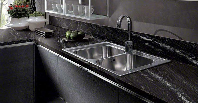 best black granite countertops pictures cost pros cons ideas rh pinterest com