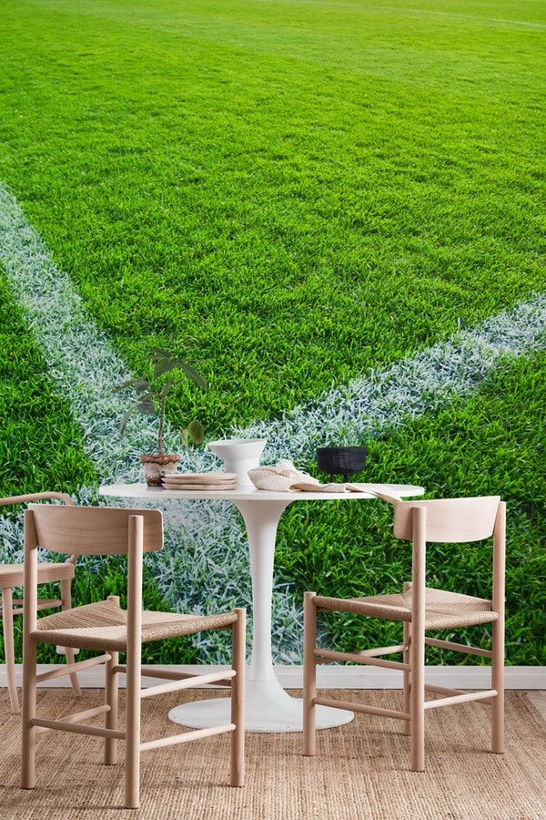 Football pitch Wall Mural / Wallpaper Sports Wall murals