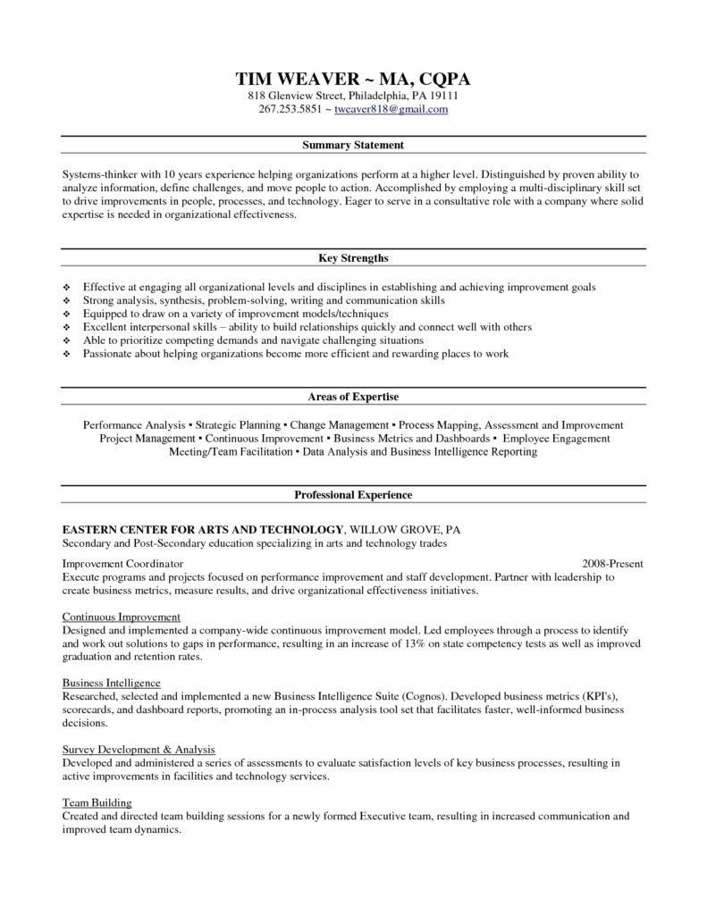 Image Result For Summary Of Qualifications Sample Skill Sets For Resumes Resume Skills Resume Objective Examples Resume Skills Section