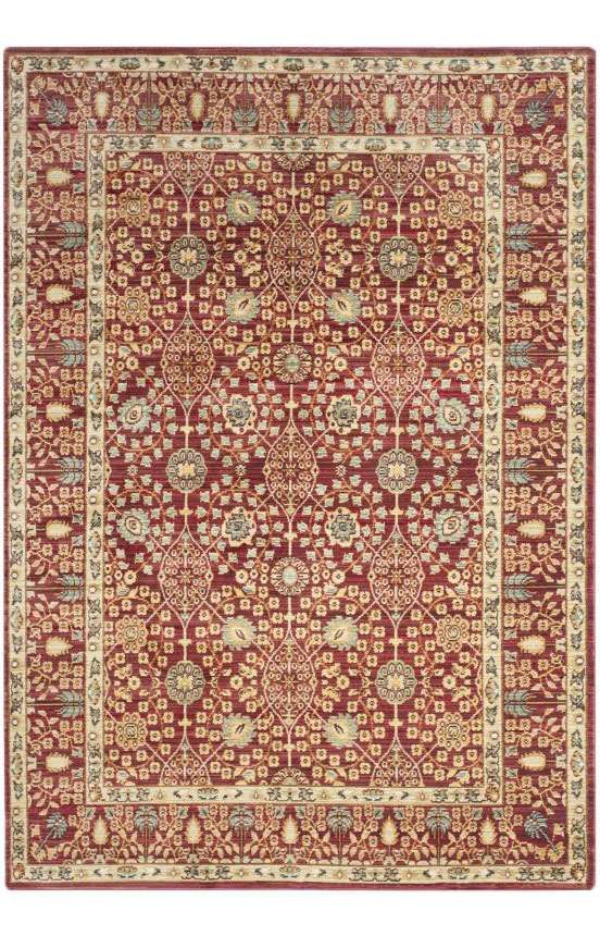 From brilliantly colored designs inspired by abstract art to classic Persian motifs supercharged with a contemporary palette, the fashion-right Valencia collection is machine loomed in an unusually fine cross weave to create a lustrous heirloom patina. Made in Turkey by Safavieh, each Valencia rug comes with serged edges for a beautifully finished designer look.