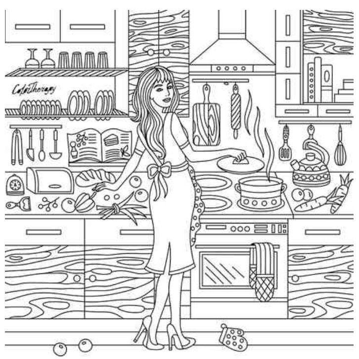 Pin de Veronika Hamilton en Colouring against stress | Pinterest ...