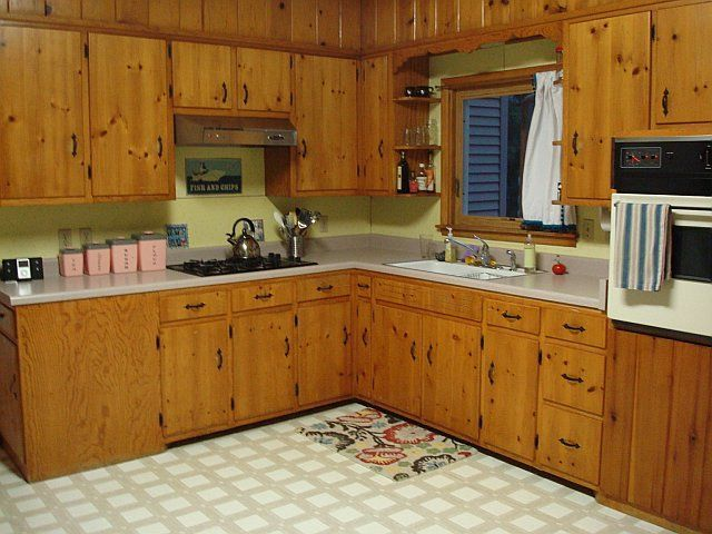 1950s Knotty Pine Kitchen Knotty Pine Kitchen Cabinets