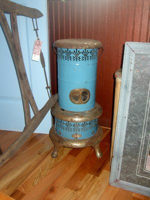 Vintage Kerosene Space Heater Antique Stove Kerosene Heater