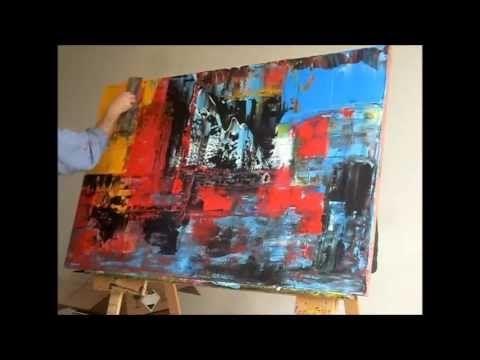 Abstrakte Acrylmalerei: 9783772458699: Amazon.com: Books