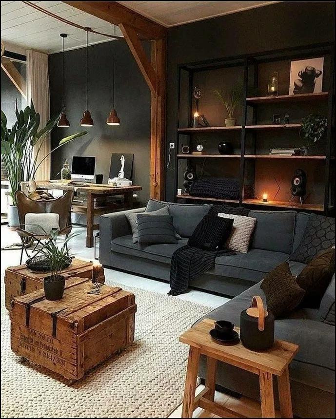 40 Stunning Living Room Ideas Small Modern Farmhouse Rustic Mediterranean Lay Rustic Chic Living Room Small Living Room Decor Living Room Design Modern
