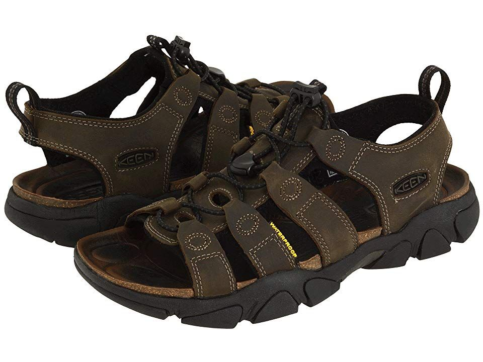 Keen Daytona Mens Footwear Sandals Black Olive All Sizes