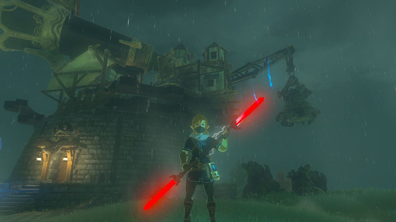 Guardian Saber The Legend Of Zelda Breath Of The Wild Switch