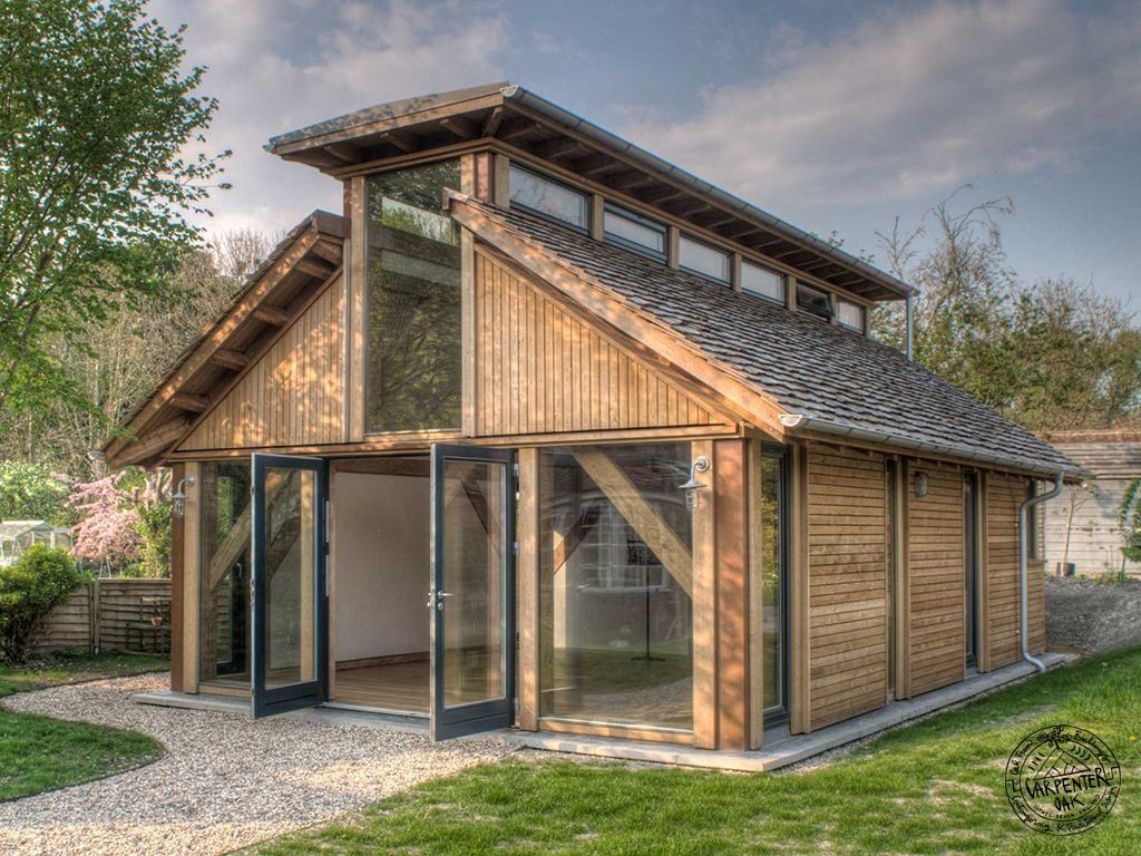 Oak Framed Garden Rooms and Oak Framed Extensions | Small spaces ...