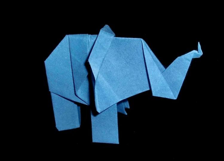 niedliche tiere basteln ein elefant diy verschiedenes. Black Bedroom Furniture Sets. Home Design Ideas