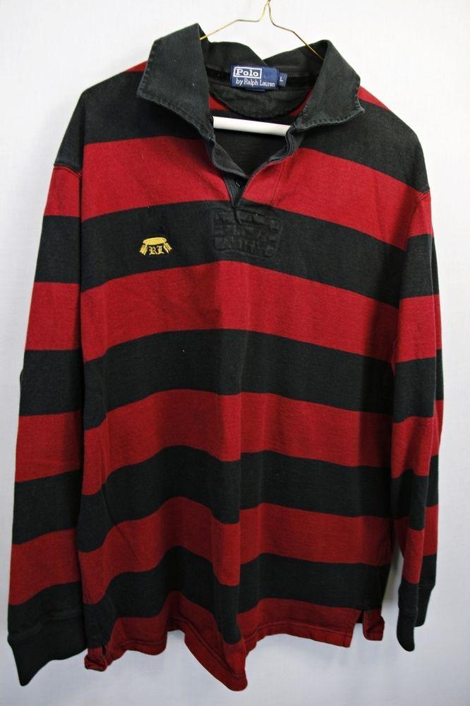 black and red ralph lauren