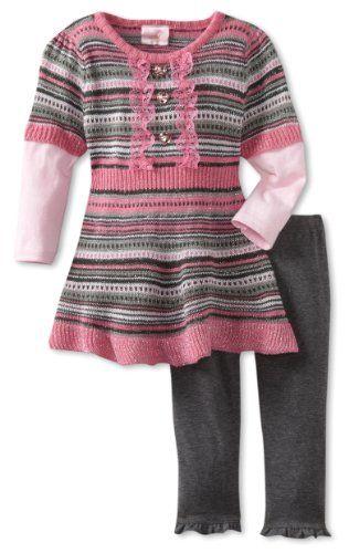Nannette Baby-Girls Infant 2 Piece Ruffle Bottom Sweater Set, Grey, 12 Months Nannette,http://www.amazon.com/dp/B007FP3GH2/ref=cm_sw_r_pi_dp_WYW8rb1R1TRMSBCA