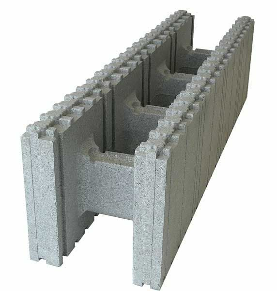 Insulated concrete forms cluck construction icf for Foam basement forms