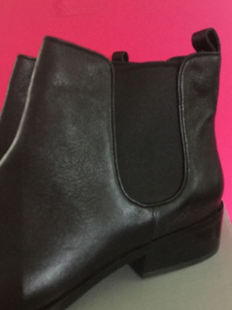 45e9a06f156 Cole Haan Black Leather Women Landsman Booties Ankle Boot Size 10 #ColeHaan  #Booties #CasualDress