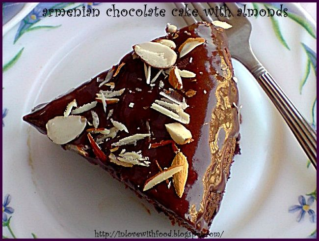 armenian chocolate cake with almonds.JPG