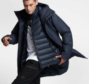 c63b201114 Nike Sportswear Down Fill Aeroloft 2 in 1 Jacket Size Large 863730 451 L New