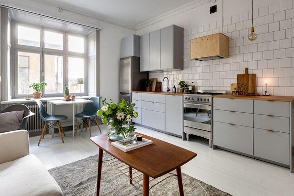 Ljuvlig sekelskiftestv a med fina detaljer dansk for Danisches kuchendesign