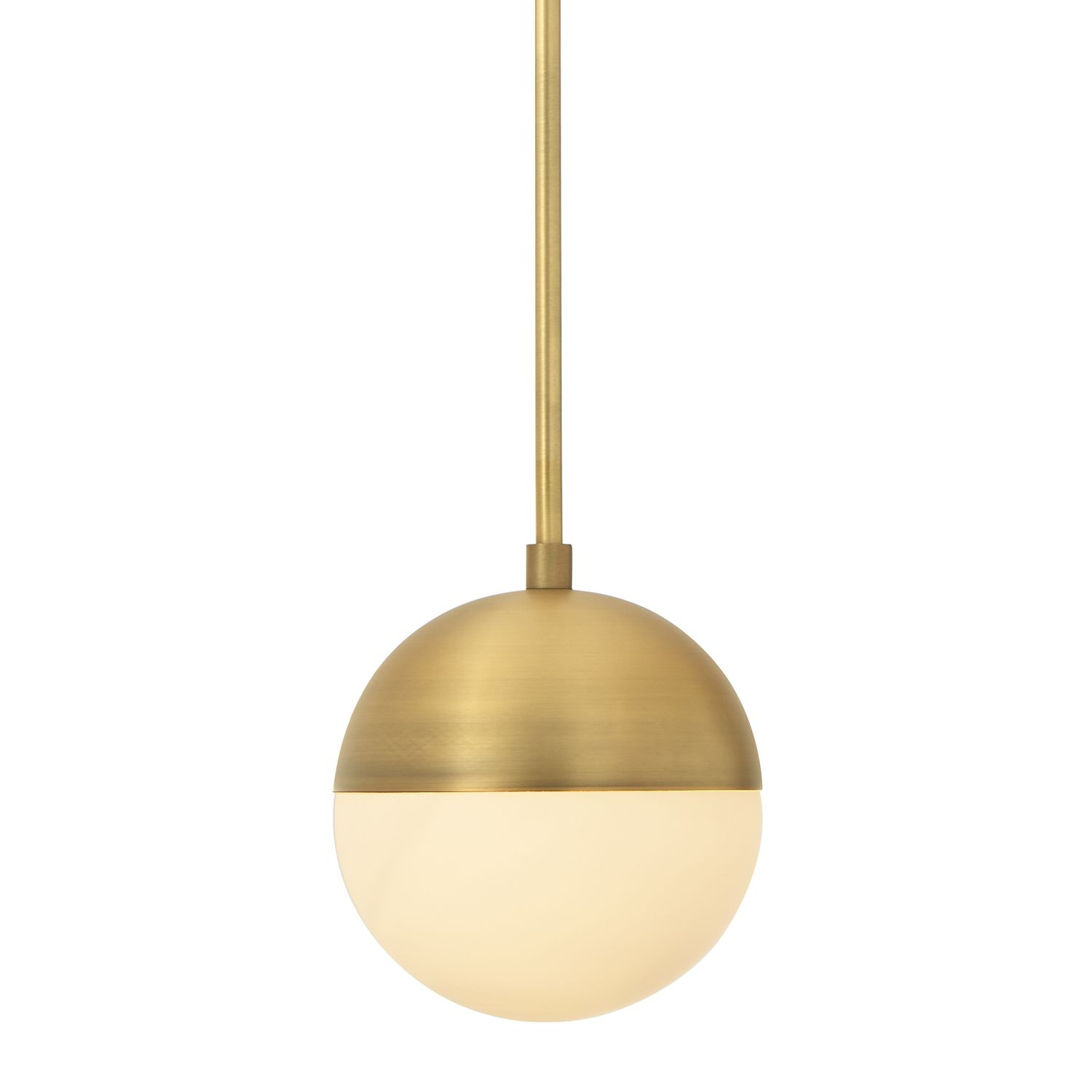 brass globe pendant light. Lights.com | Ceiling Lights Pendant Lighting Powell With Hooded White Globe Brass Light