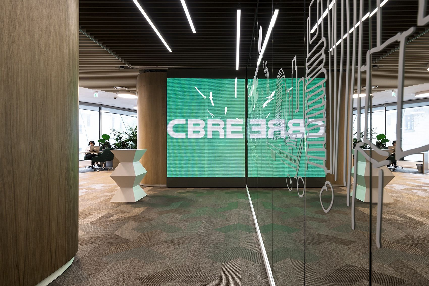 A Tour Of Cbre S New Bucharest Office With Images Workspace