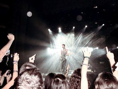 Bush (Gavin Rossdale) - 2/9/2012 Lisbon