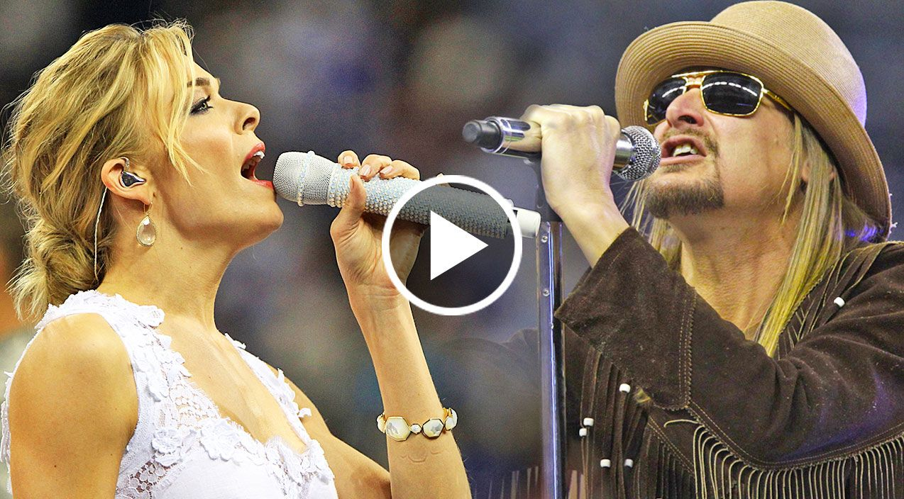 Kid Rock & LeAnn Rimes Team Up For Passionate Performance Of ...