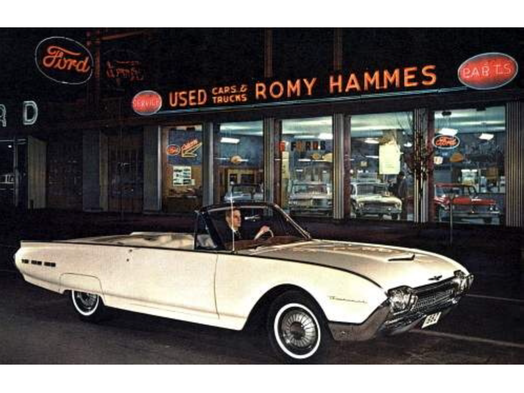 1962 Romy Hammes Ford Dealership South Bend Indiana