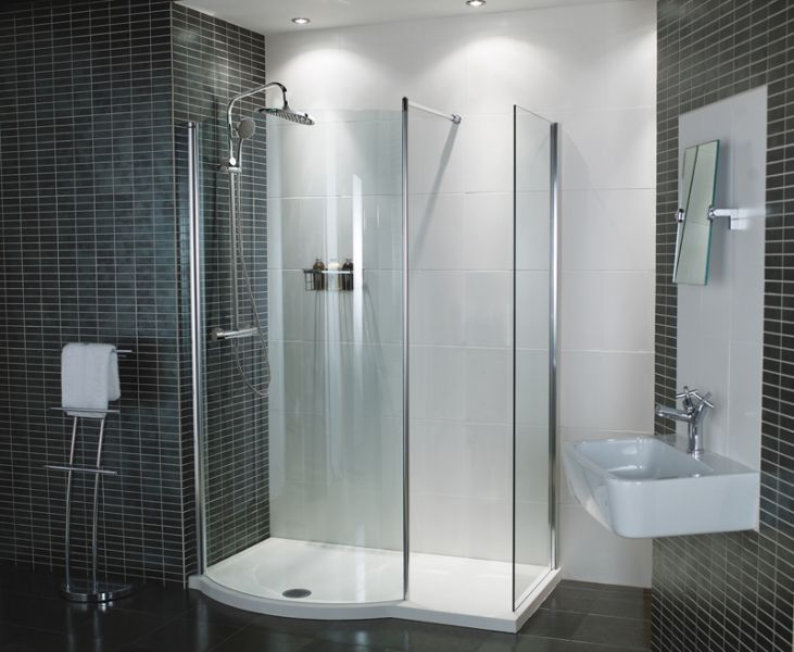 Orbital 1450mm Colossus With End Panel Fcgp1013 Shower Valve