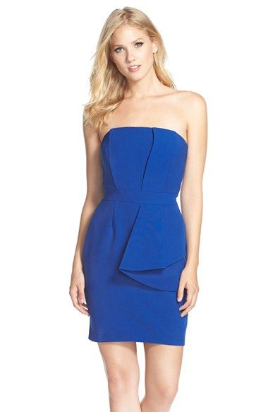 Adelyn Rae Layered Strapless Sheath Dress available at  Nordstrom ... 4e2956967