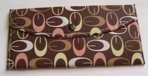 Brown Womens Pocketbook