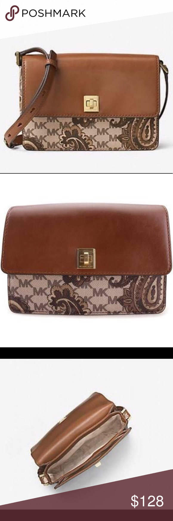 9fca655c7ffbbd MK Natalie M Heritage Paisley Crossbody collection Michael Kors Studio  Collection Natalie Medium Heritage Paisley Crossbody,new with tag and dust  bag.