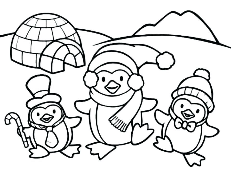 Penguin Coloring Pages Ideas For Children Penguin Coloring Pages Coloring Pages Winter Family Coloring Pages
