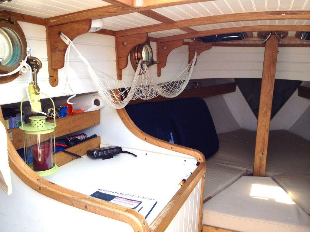 Show Me Your Sailboat 39 S Interior Page 12 Sailnet Community Sailing Pinterest Community