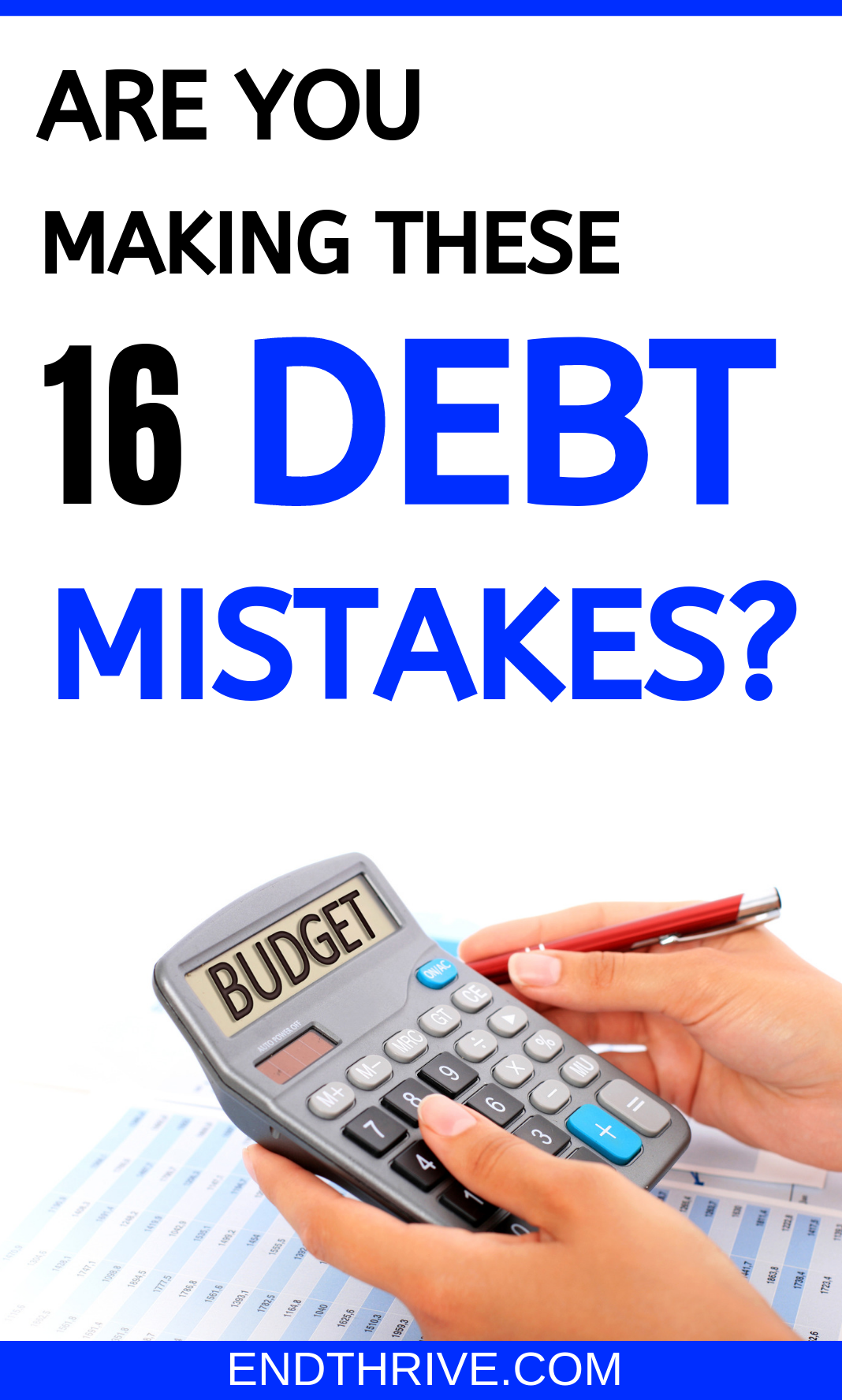 Are you making these financial mistakes Its time to focus on paying of debt But when youre getting rid of debt could you be making these debt mistakes This is more than j...