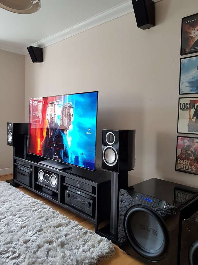Djjez S Home Theater Gallery My Home Theatre 27 Photos Home Theater Setup Home Cinema Room Home Theater Design