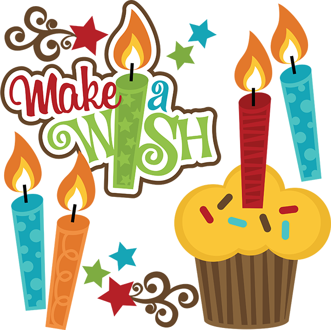 Make A WishBoy (With images) Birthday clipart, Birthday