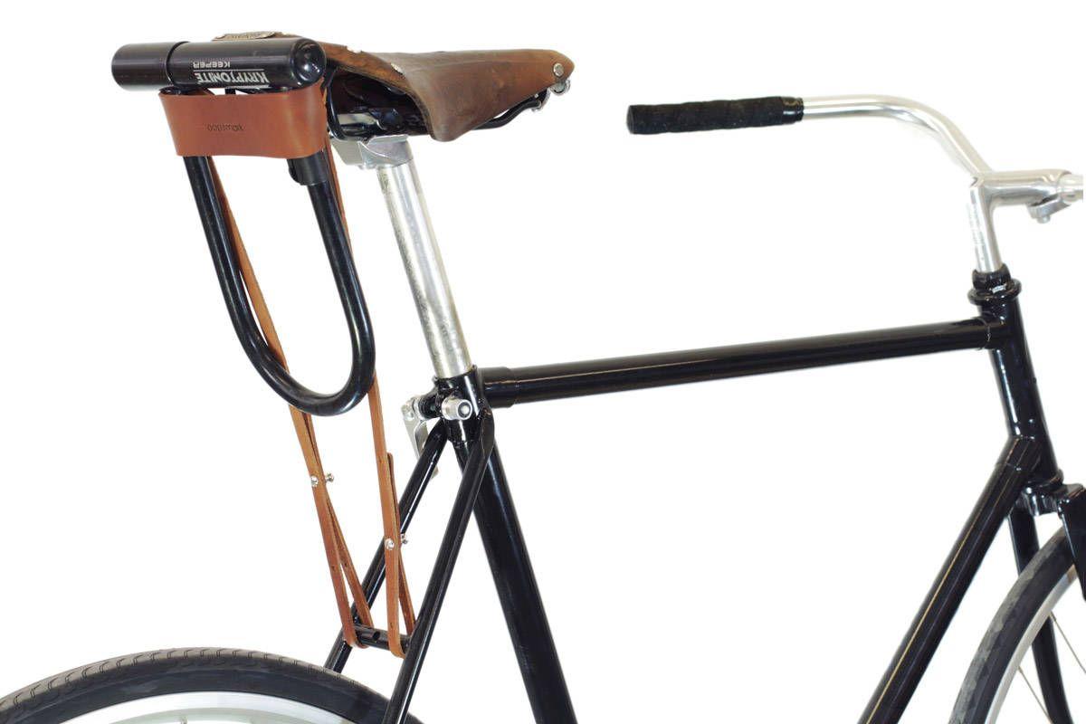 Fahrrad U Lock Holster Leder Mit Bildern Leder Fahrrad