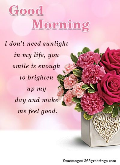 Good morning messages for him - 365greetings.com | Good ...