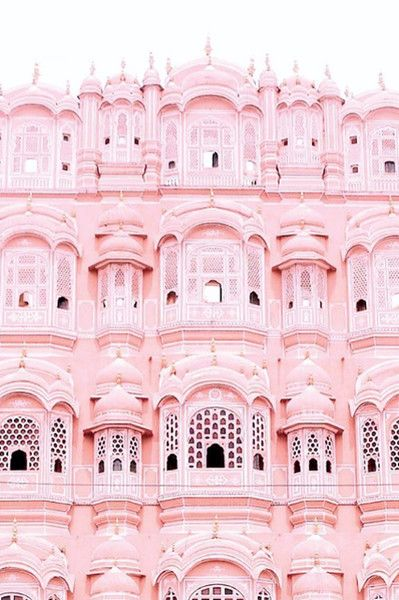 Colorful Exteriors Pink Palace Pink Aesthetic Pink Wallpaper