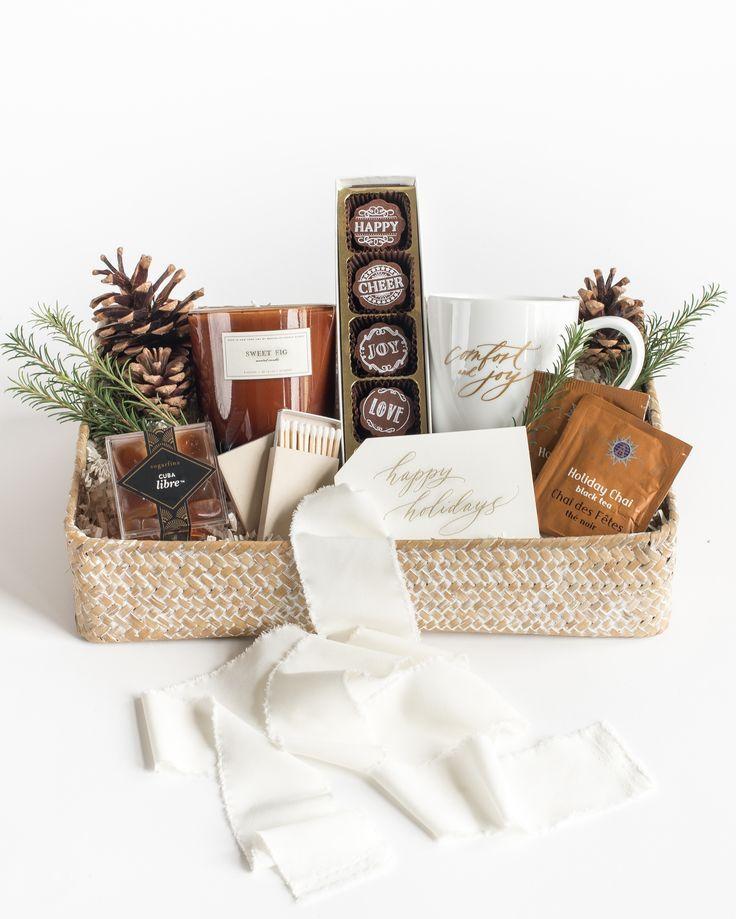 Marigold Blog Holiday gift box, Holiday gift baskets