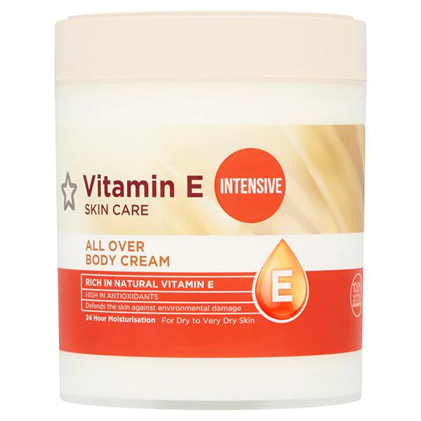 Vitamin E Intensive All Over Body Cream 475ml Skin Superdrug Vitamin E Body Cream Vitamins