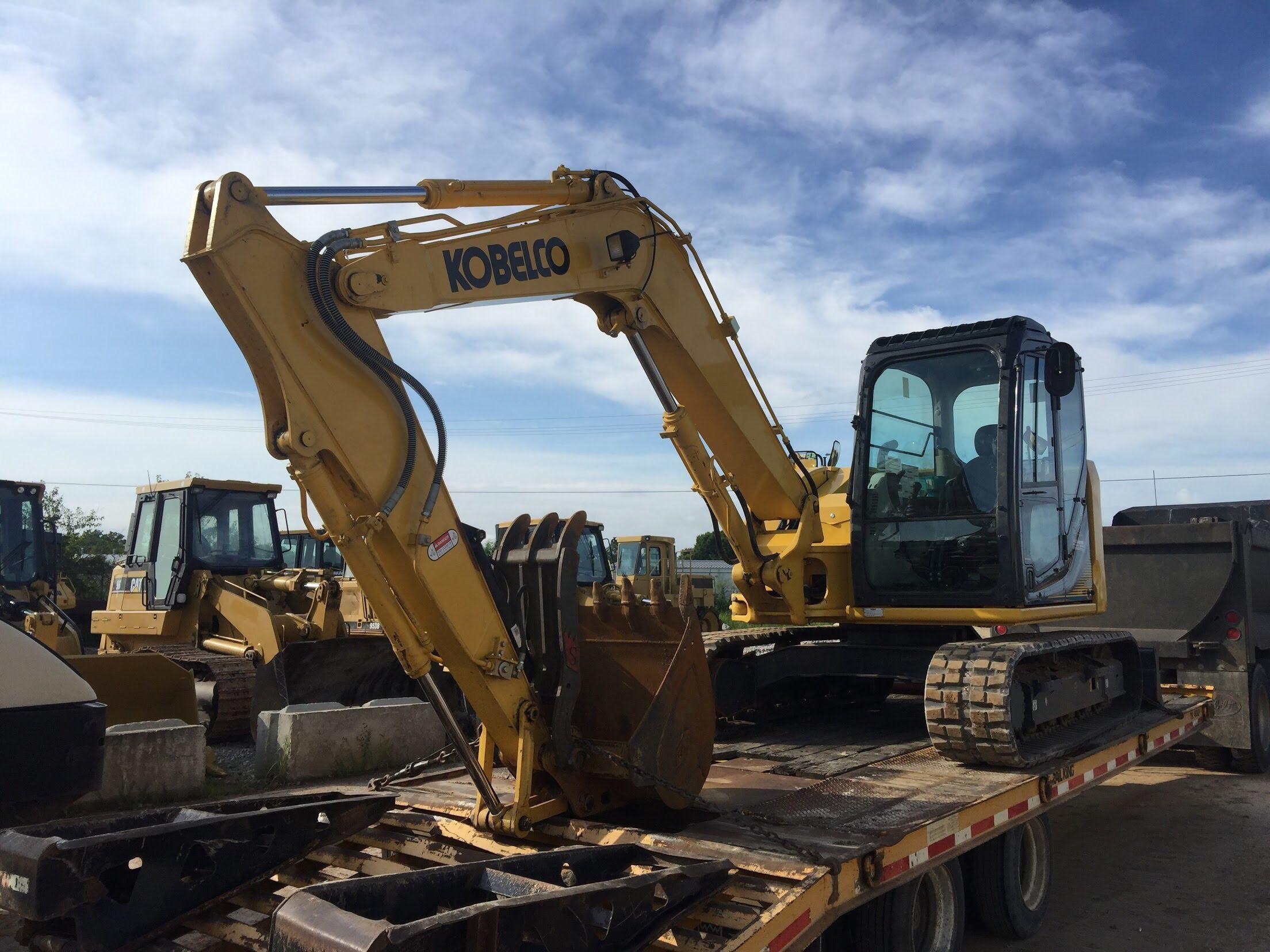 Hayden Machinery is your Kobelco Excavator dealer in