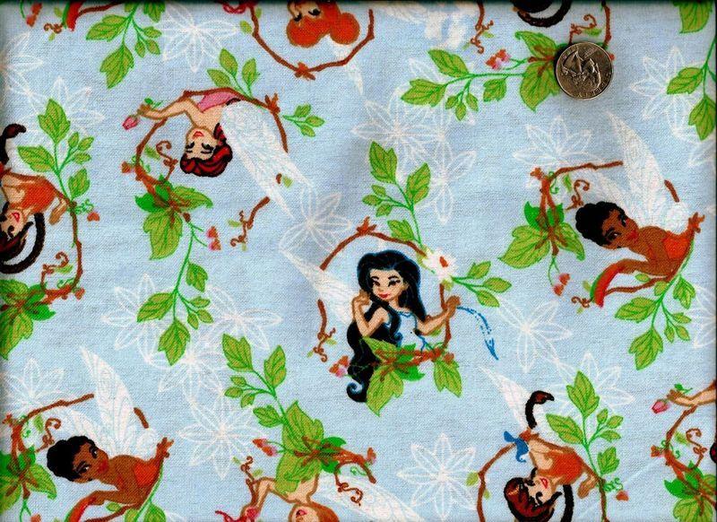 Flannel Quilt Fabric Disney Princess Spring Celebration Girls ... : disney quilting fabric - Adamdwight.com