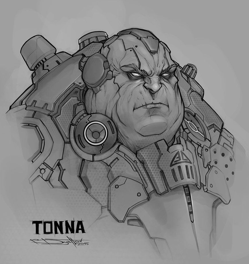 Tonna Sketch by Boris-Dyatlov on DeviantArt