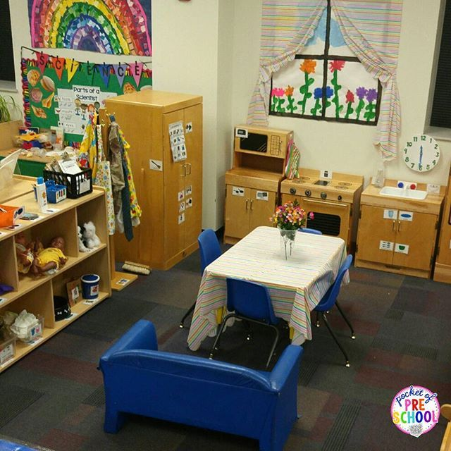 Home Living Dramatic Play Center For Preschool, Pre-K, And
