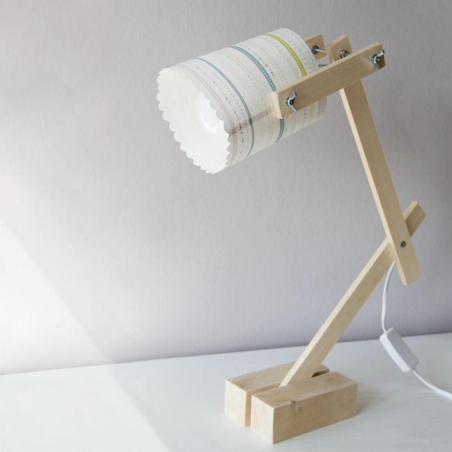 Une En Fabriquer Iedh9we2y Et Recyclée Bois Diy Papierbricolage Lampe kuOZiXPwT