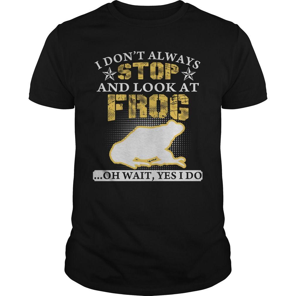 LOOK AT FROG T Shirts