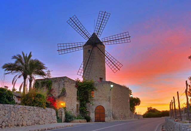 Moli d´en Pau - Mallorca (Windmill)