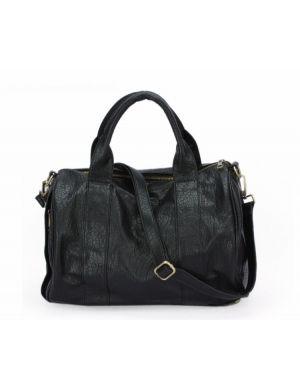 Kristine Studded Texture Leather Bag