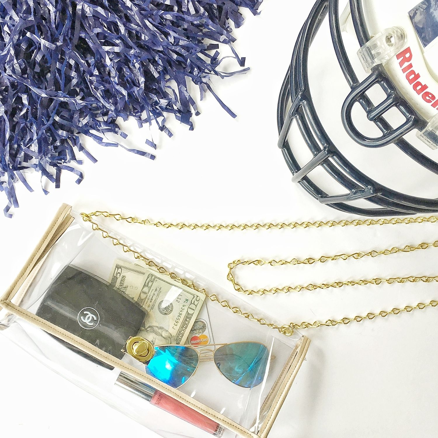 GAMEDAY BAG — Living With Landyn Fashion, Clear bags, Bags
