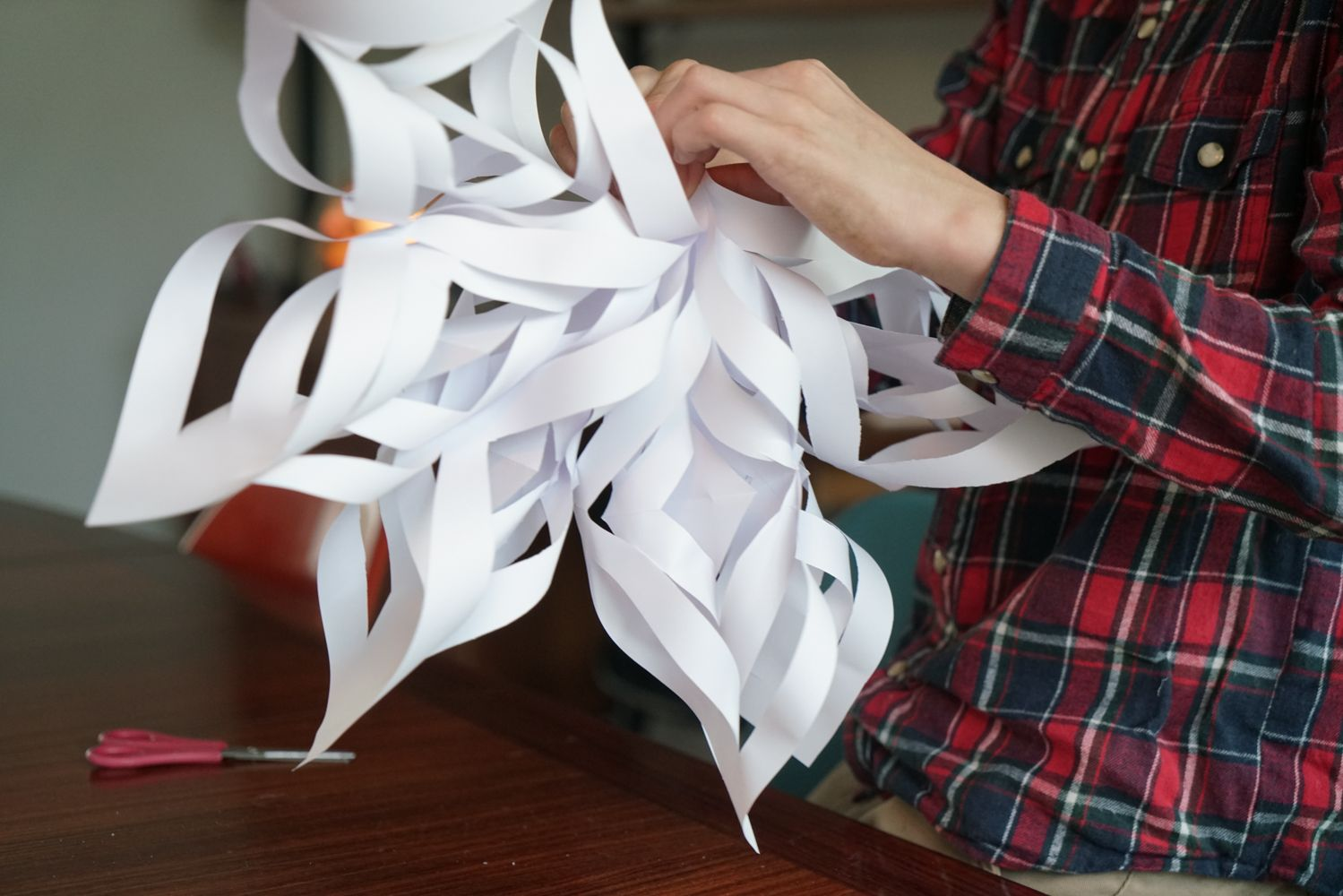 3D paper snowflakes | Christmas snowflakes crafts, Christmas ... | 1000x1499